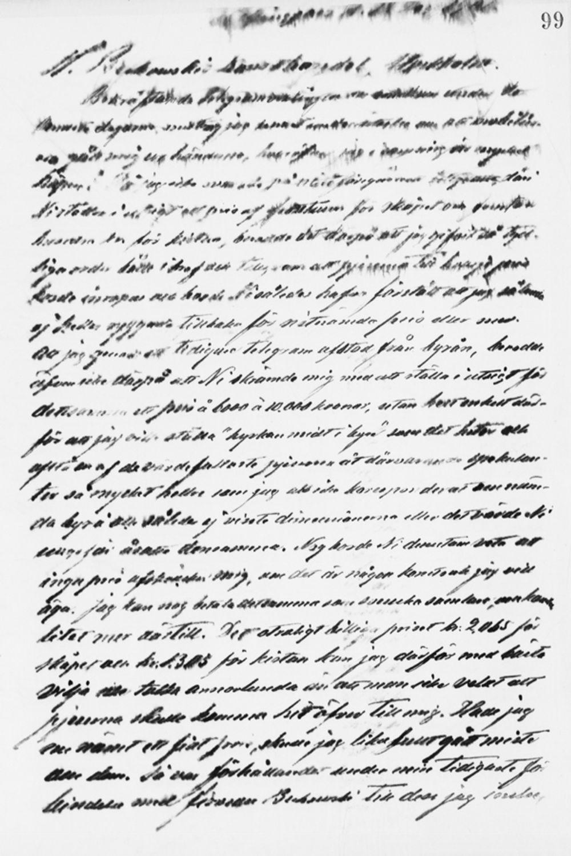 Paul Sinebrychoffin kirje Carl Ulrik Palmille 18.12.1901