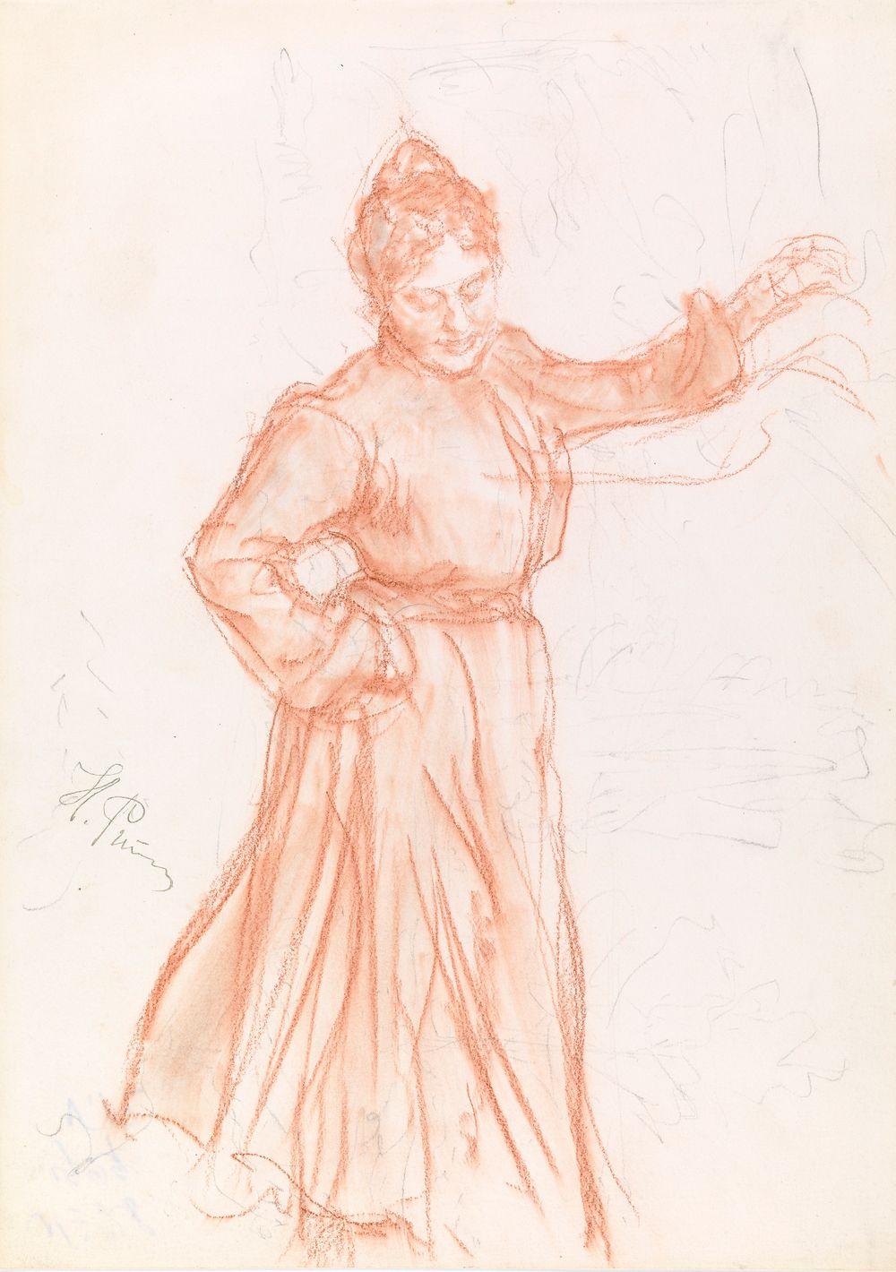 Dansande Natalia Nordmann