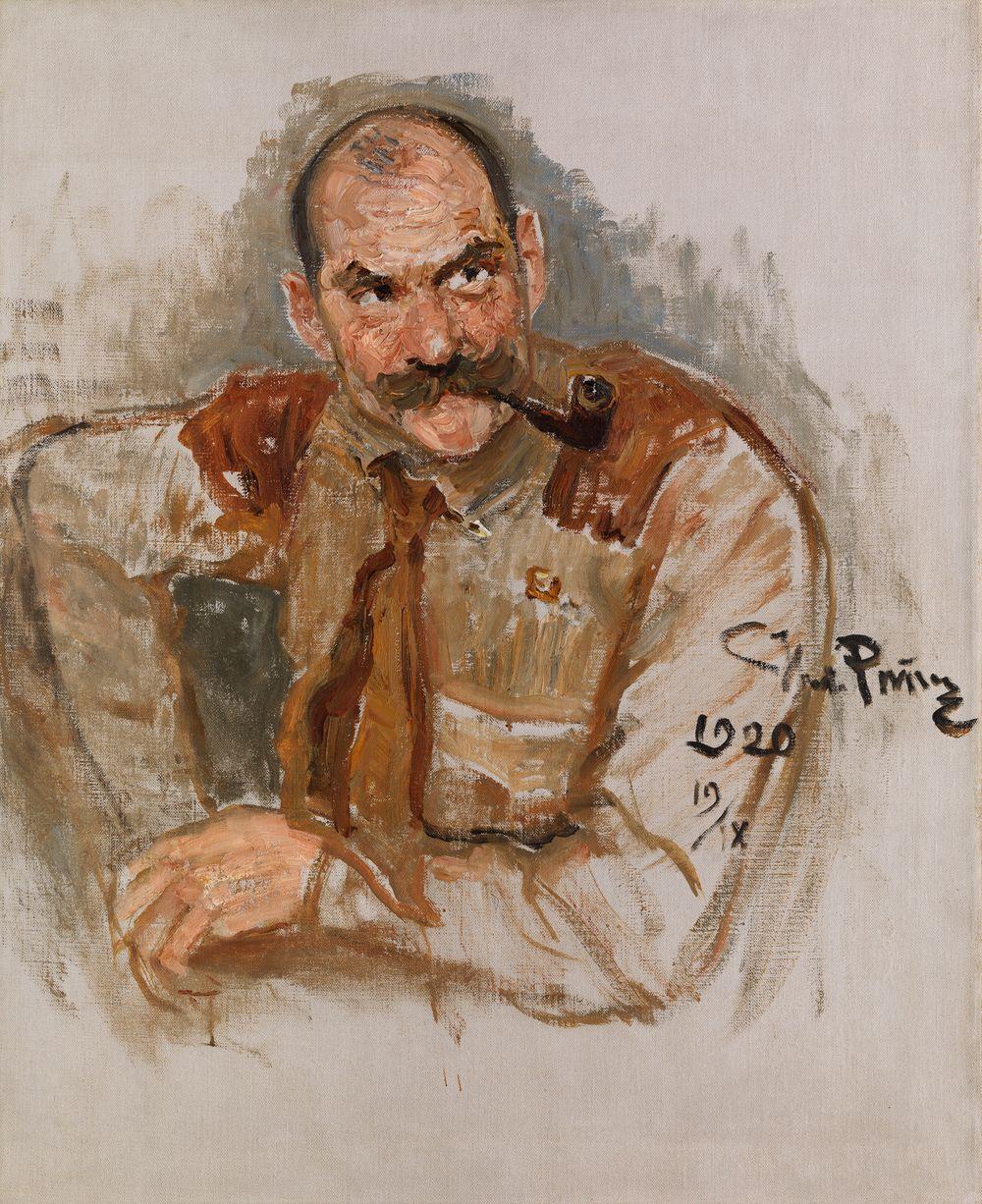 Porträtt av A. Gallen-Kallela
