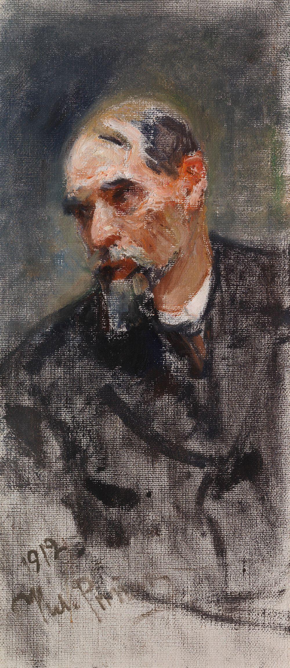 Prokuratorn: Porträtt av P. A. Sergienko