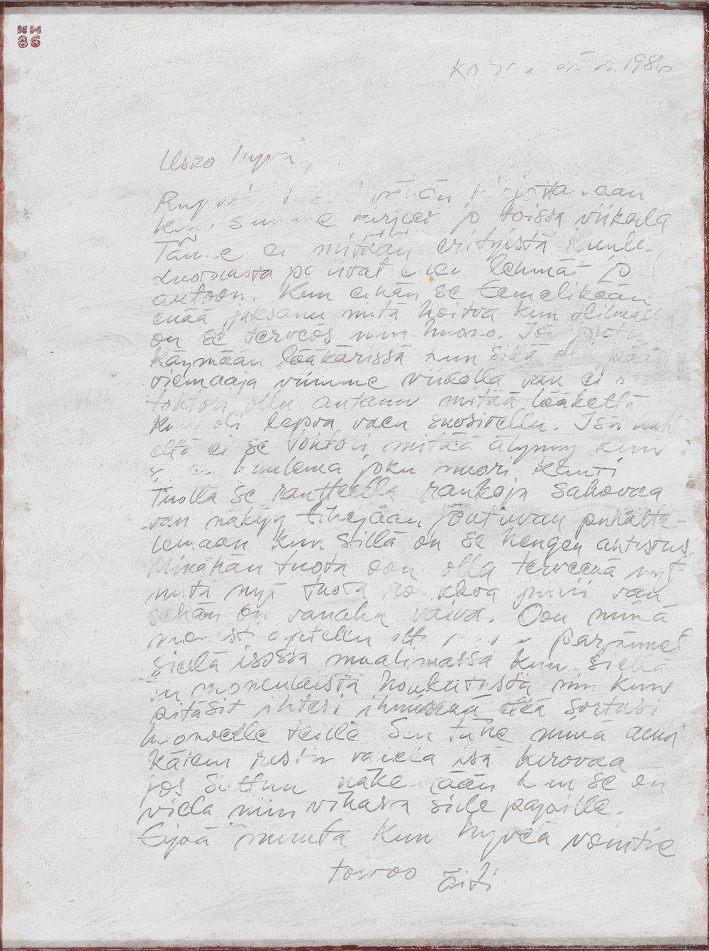 Kirje kotoa II