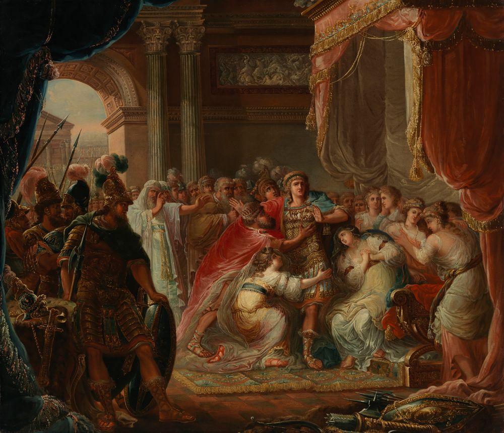 Prinssi Meleager kieltäytyy taistelemasta maan vihollisia vastaan, kopio Jonas Åkerströmin mukaan