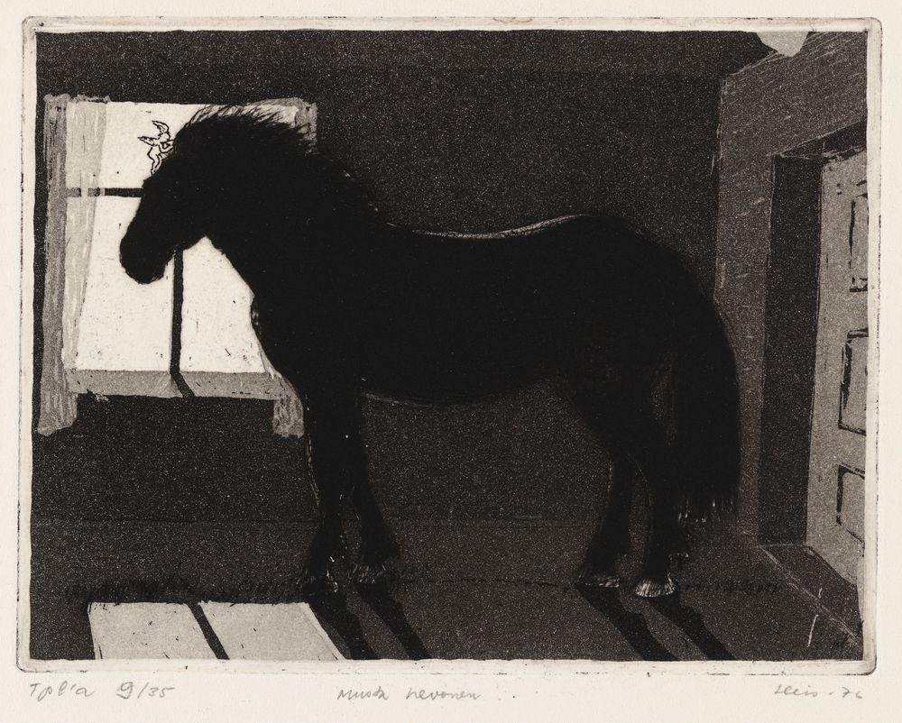 Musta hevonen