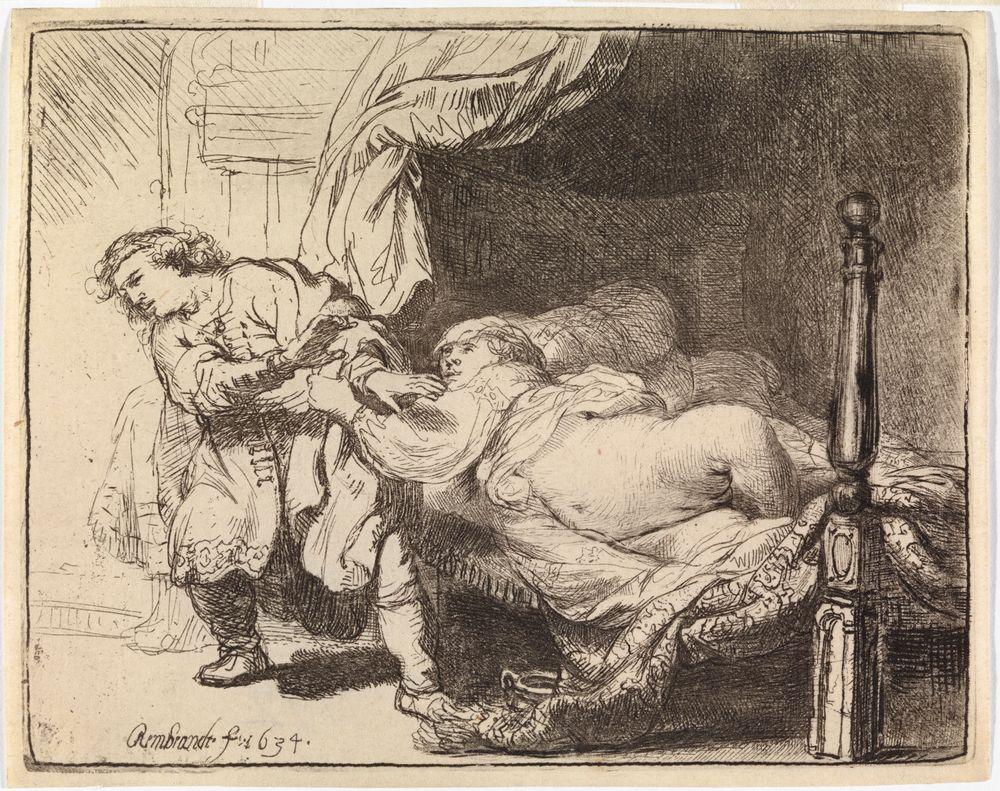 Joosef ja Potifarin vaimo