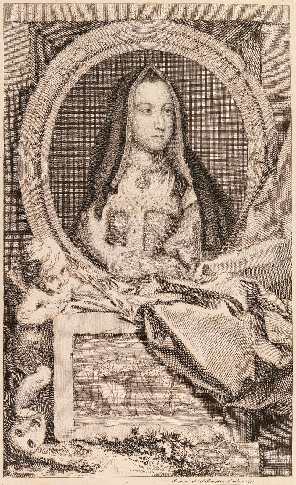 Elisabet York, Henrik VII:n kuningatar