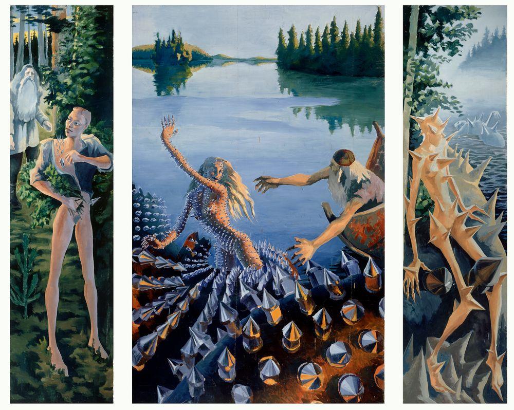 Aino Triptych