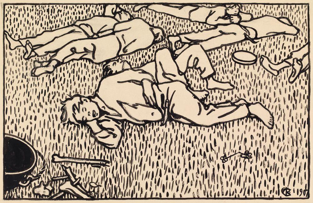 Veljekset makaavat aholla, 9.luku