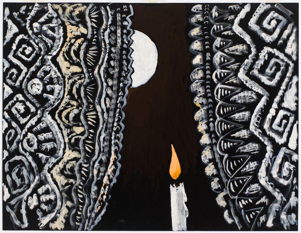 Kynttilä ja kuu