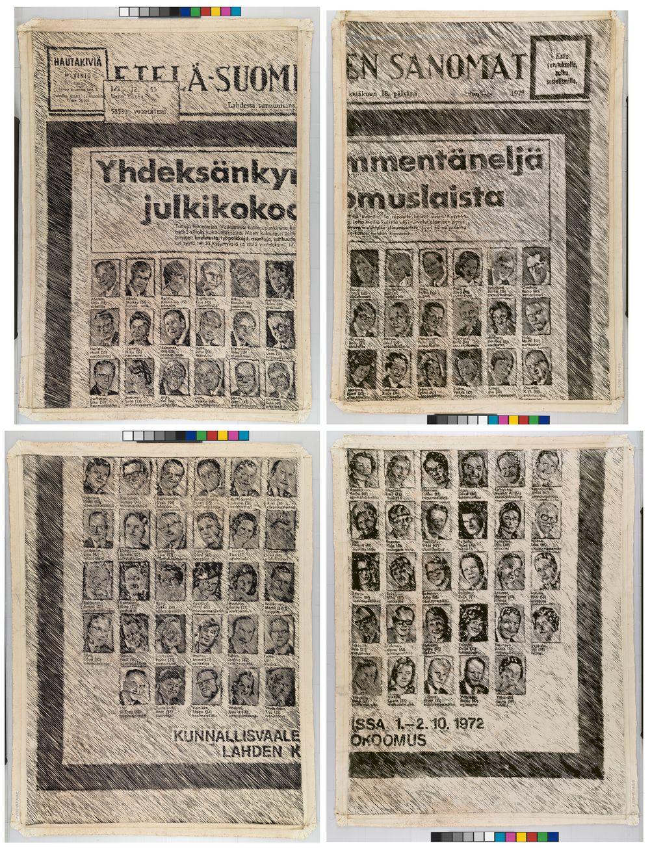 Etelä-Suomen Sanomat, vaali-ilmoitus