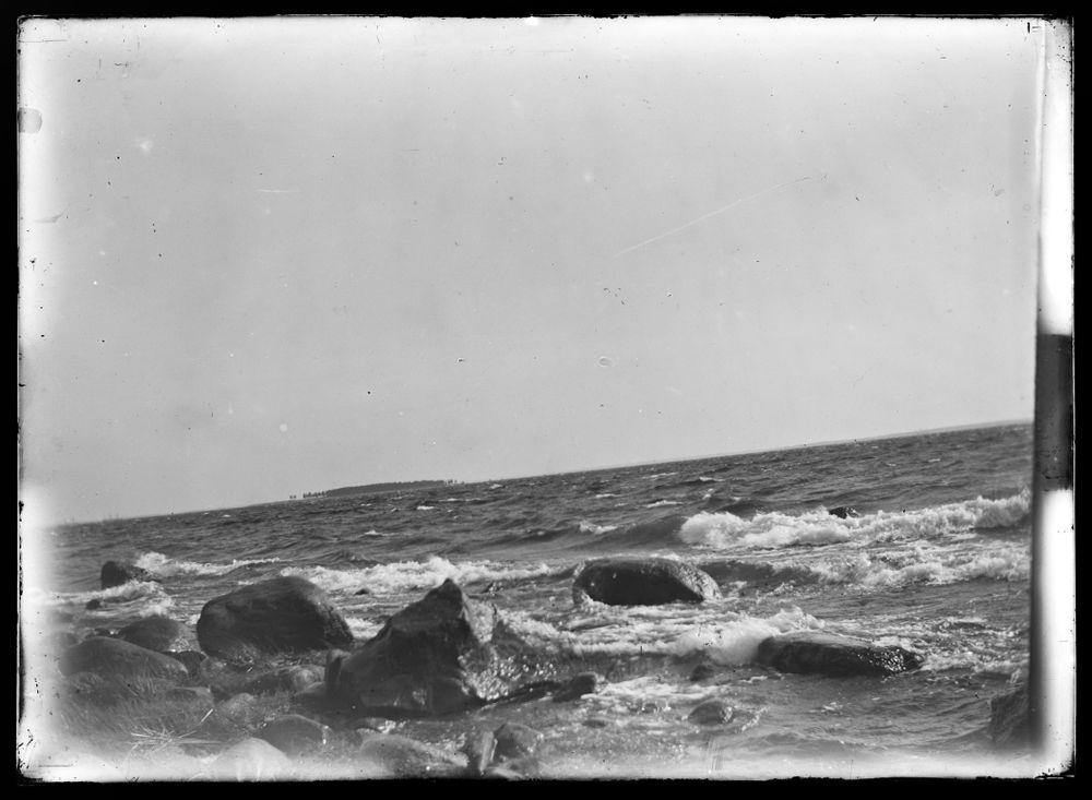Merimaisema Selkärannalta, etäällä Mensin saari