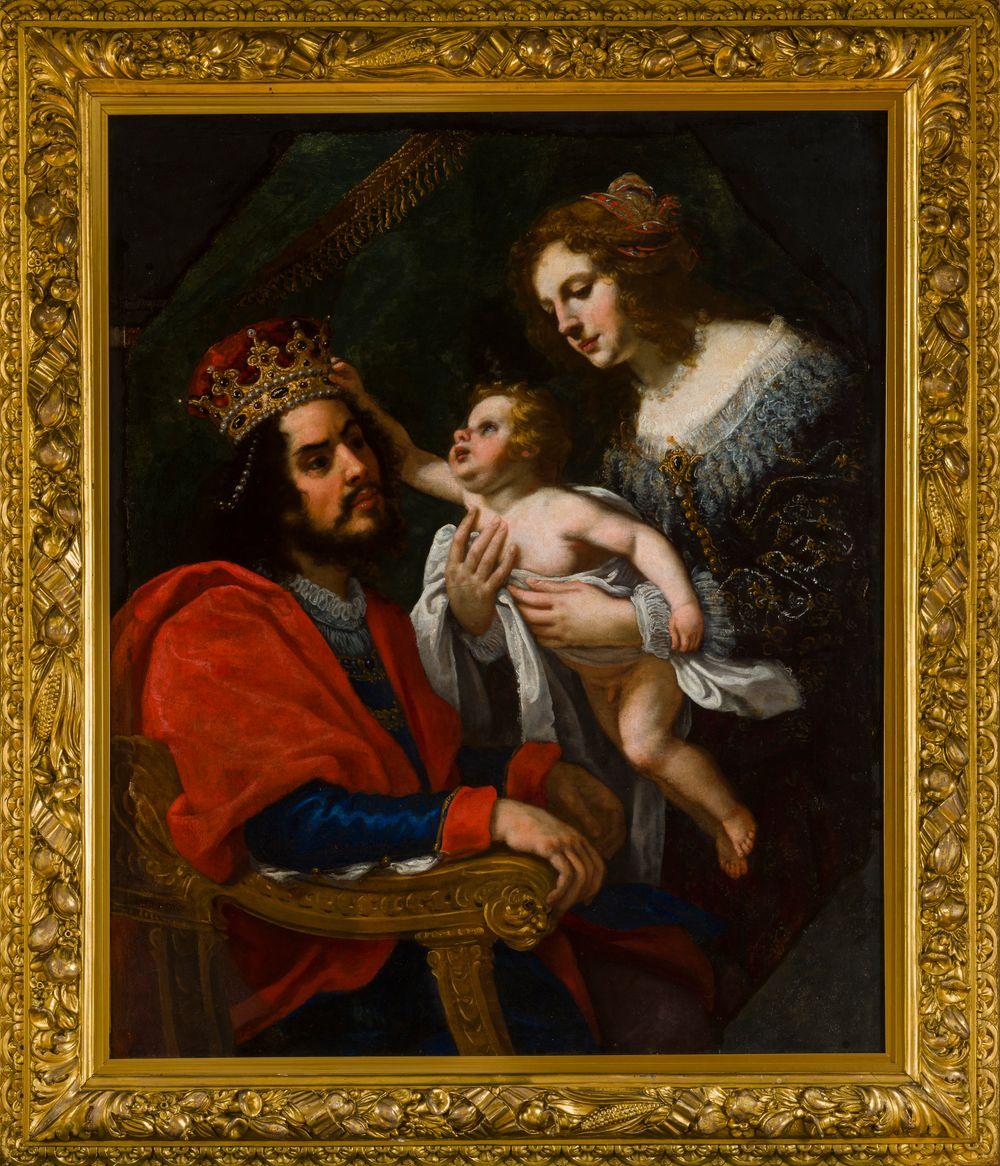 Faaraon tytär esittelee Mooseksen