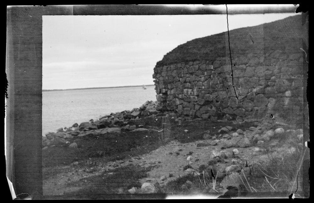 Linnoituksen rauniota