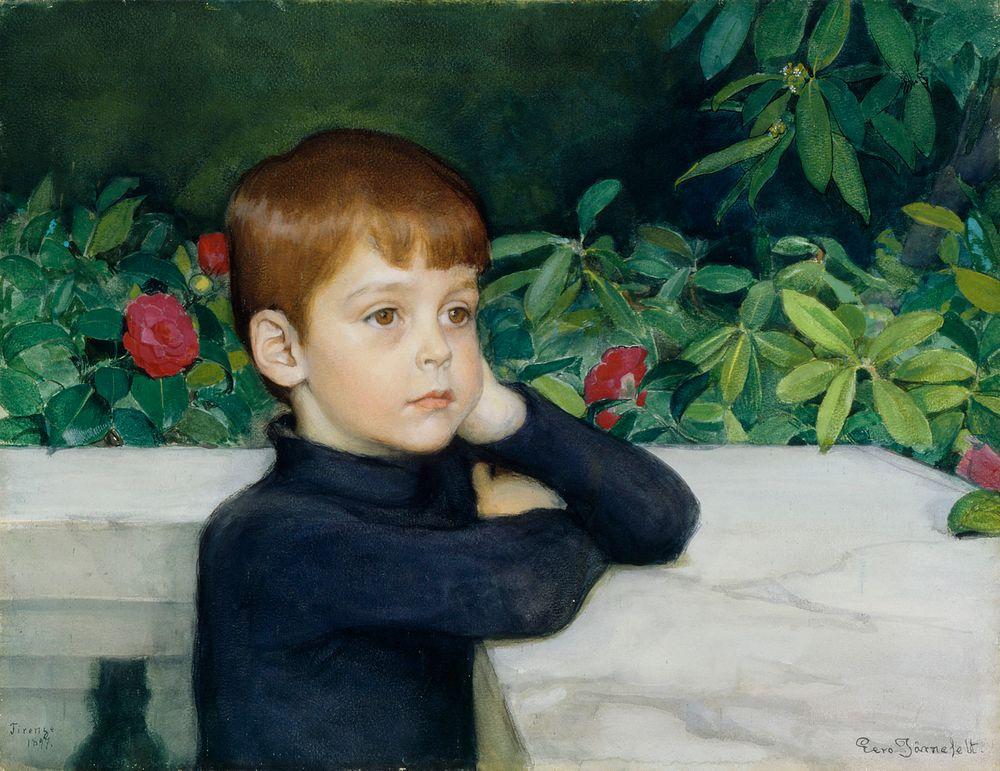 Taiteilijan pojan muotokuva (Heikki Järnefelt)