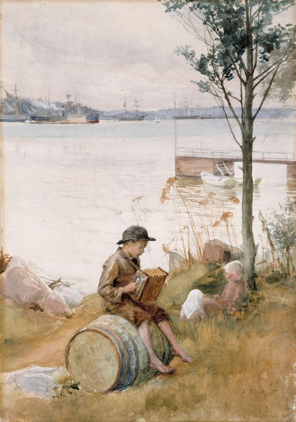Serenadi rantapenkereellä