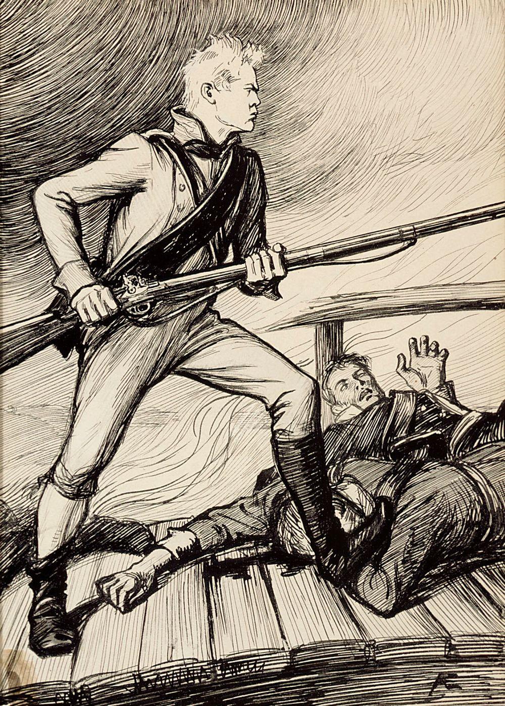 """""""Peräytymään kun käskettiin, hän hyökkäs sillalle"""""""
