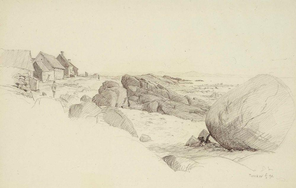 Merenrantamaisema Bohusläänistä