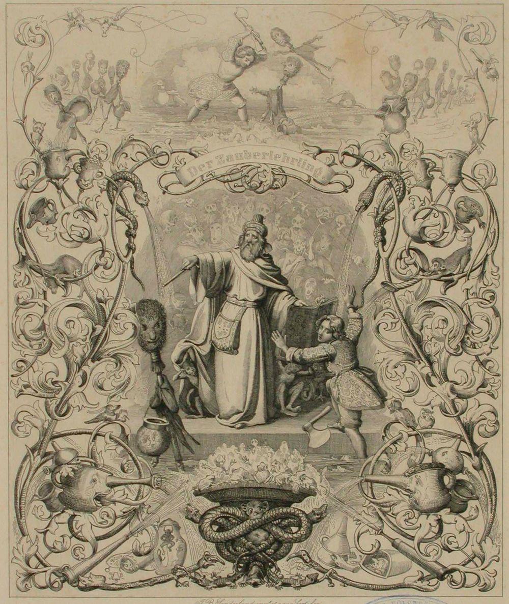 Runokuvitus, Der Zauberlehrling