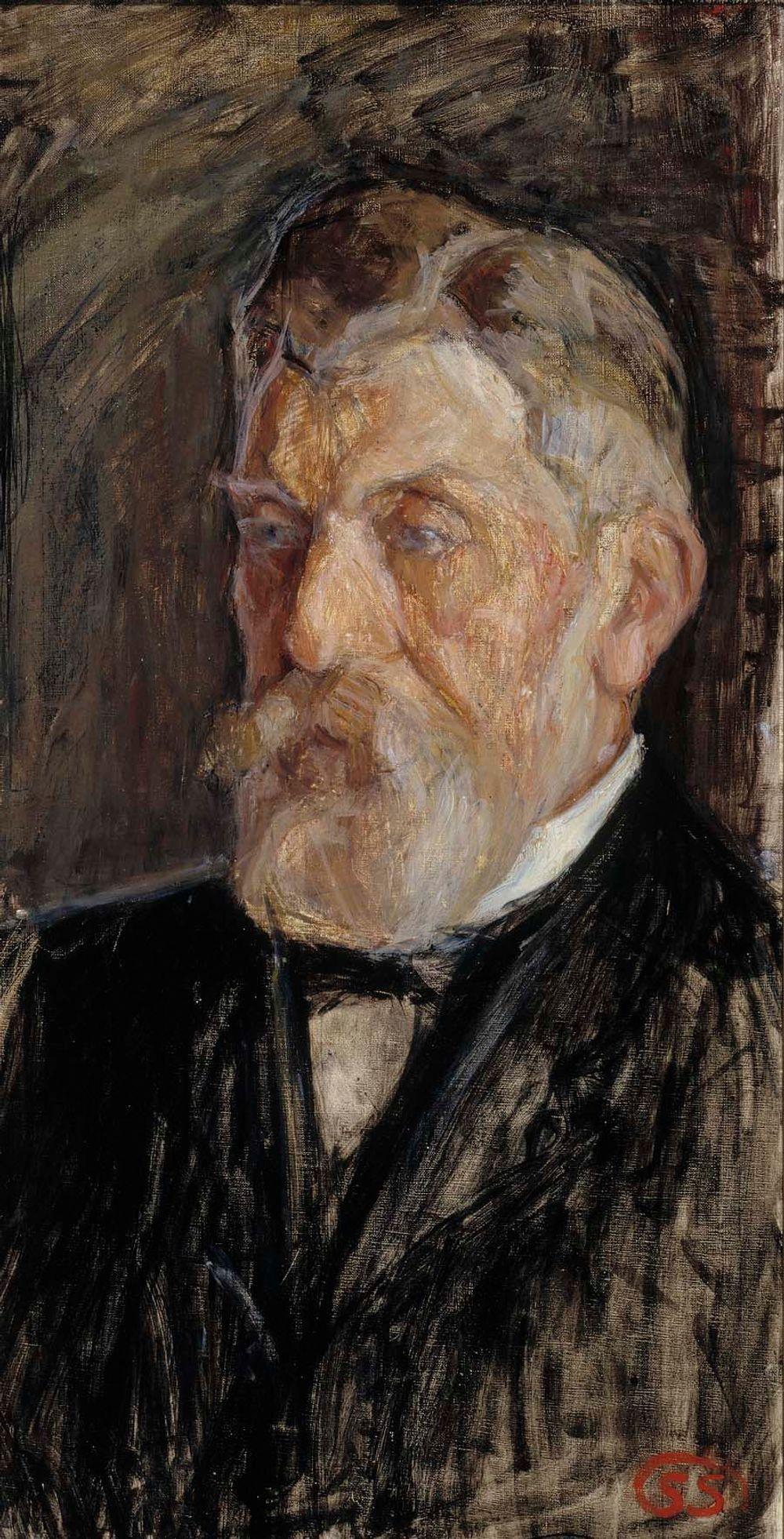 Taiteilijan isä Fredrik Valdemar Schauman