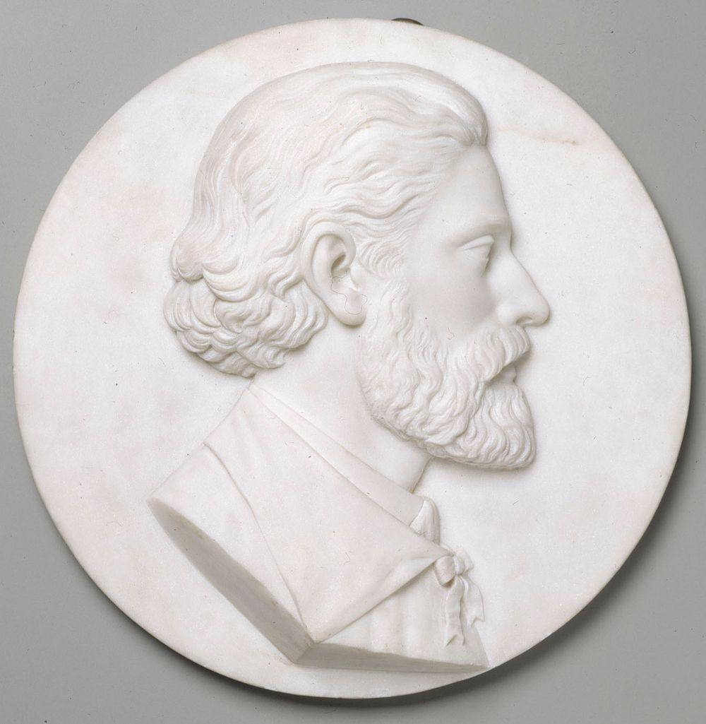 Medallion Portrait of Walter Runeberg