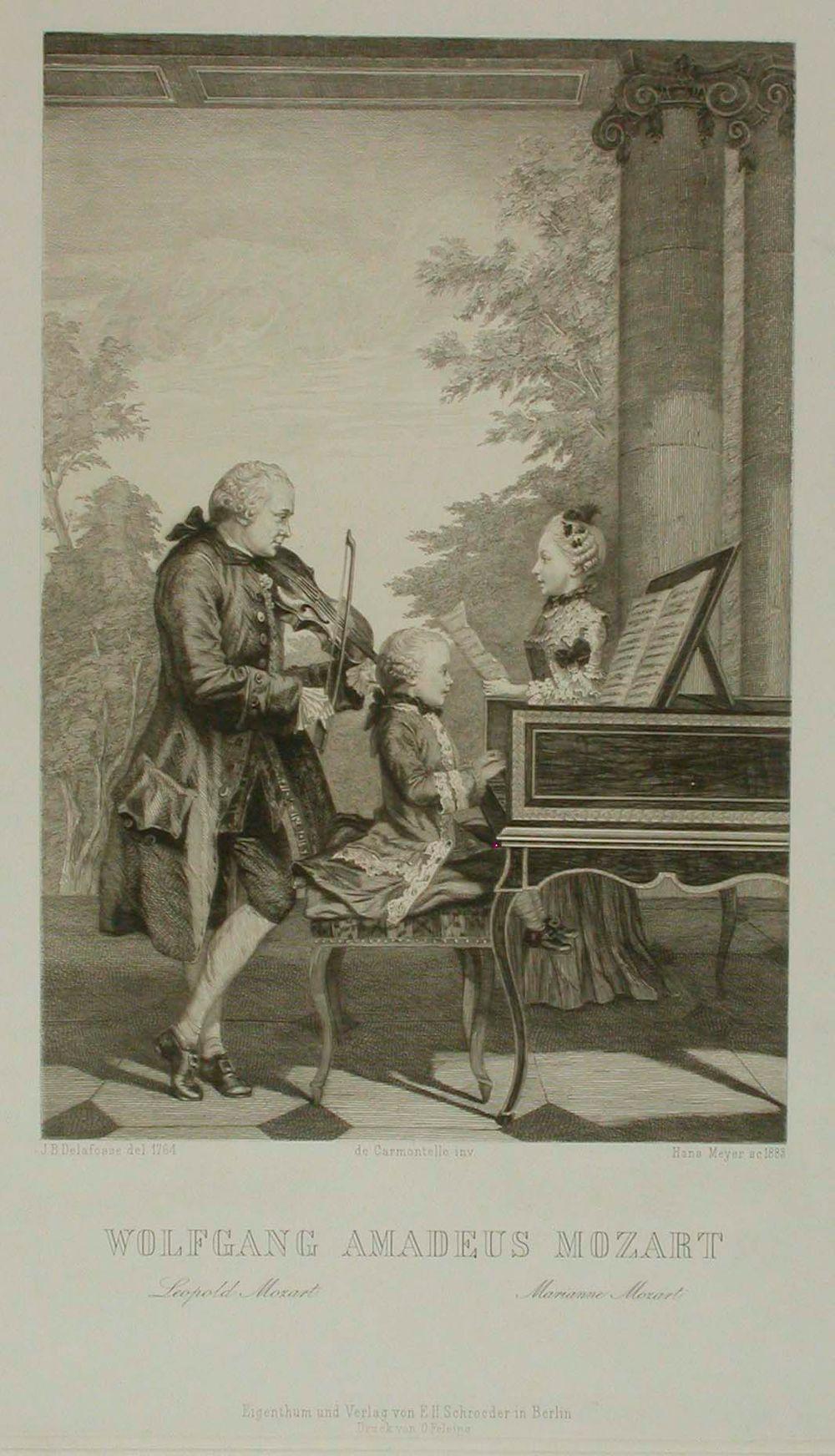 Nuori Mozart musisoi isänsä ja sisarensa kanssa