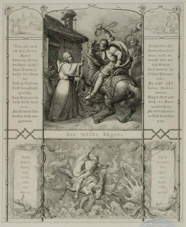 Runokuvitus, Der Wilde Jäger