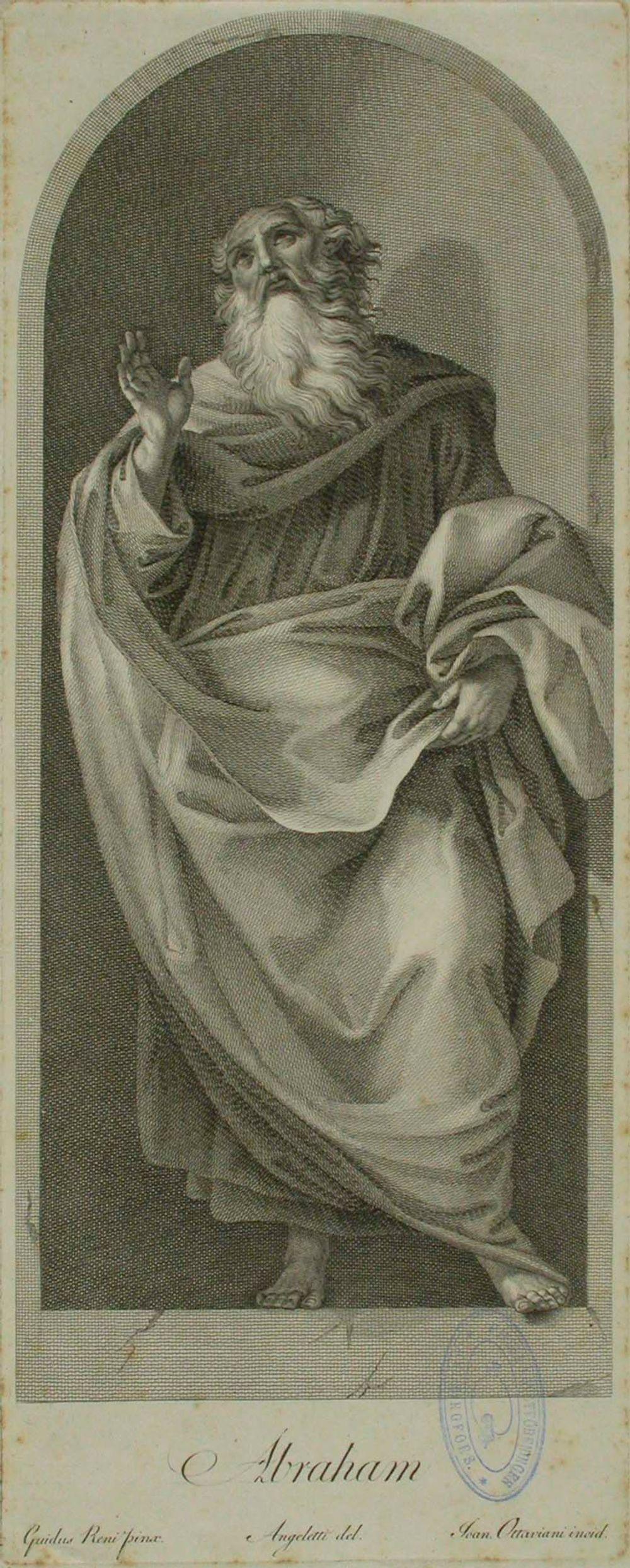 Abraham (Quirinali-kappelin maalauksen mukaan)
