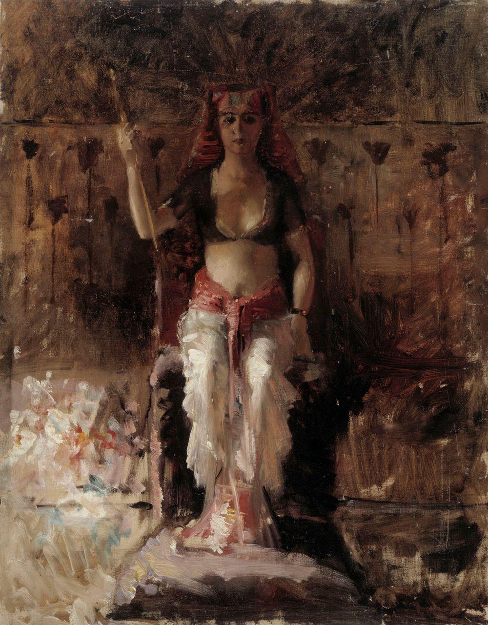 Egyptiläinen kuningatar, akatemiaharjoitelma