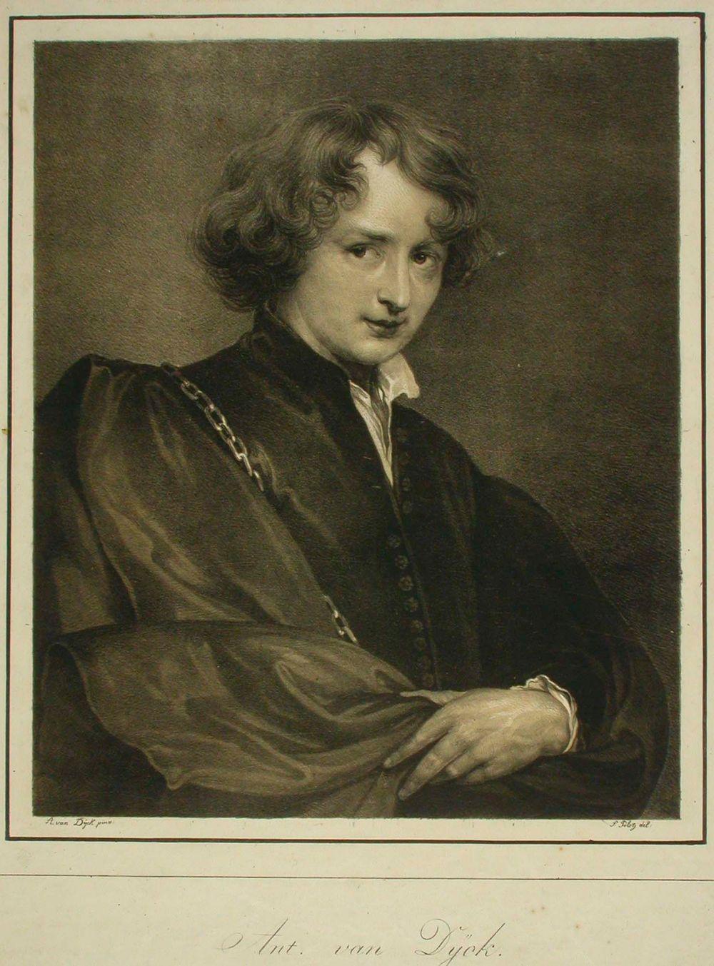 Anton van Dyckin omakuva