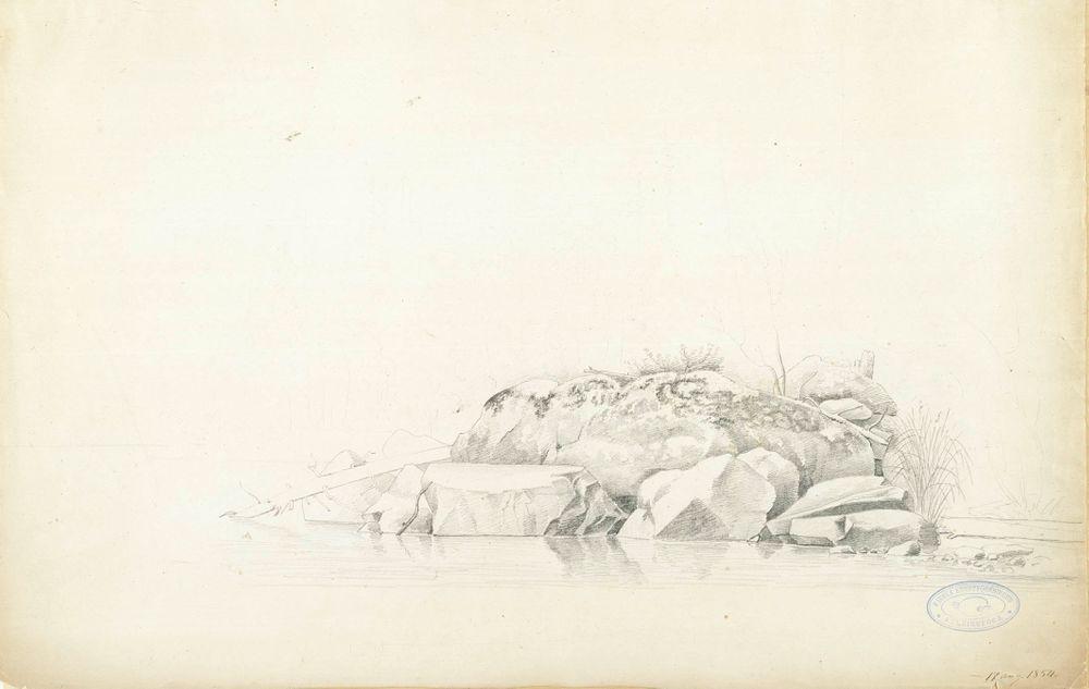 Rantakiviä Haminalahdella