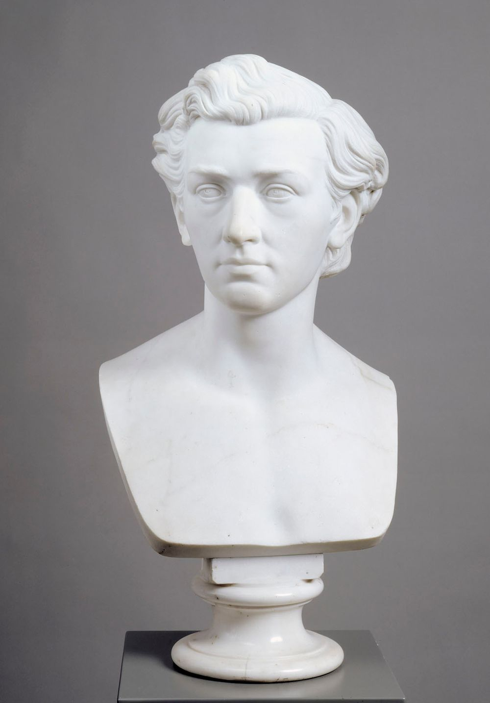 Bust of The Painter Werner Holmberg