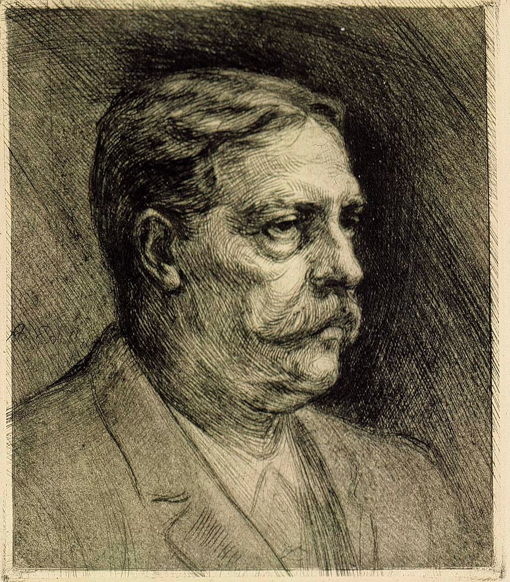 Portrait of Viktor Rydberg