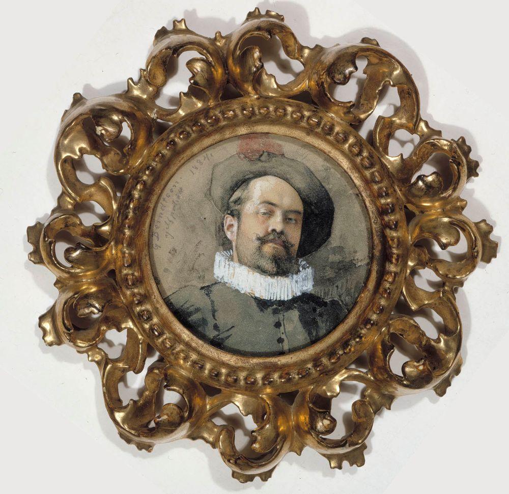 Omakuva 1600-luvun puvussa