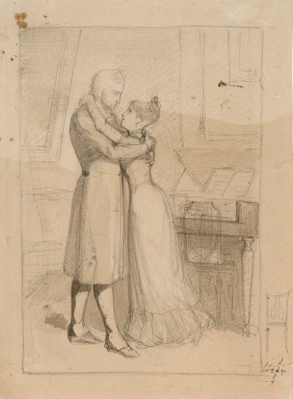 Majuri ja neiti Augusta (Jouluilta)