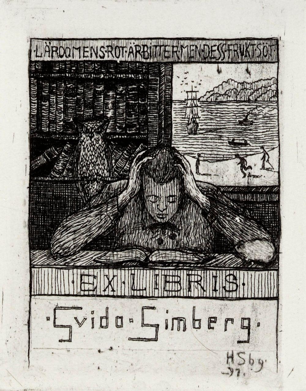Exlibris Guido Simberg II