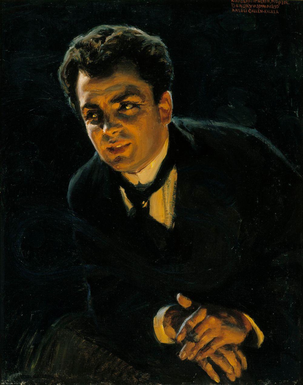 Saksalaisen näyttelijä Rudolf Rittnerin muotokuva