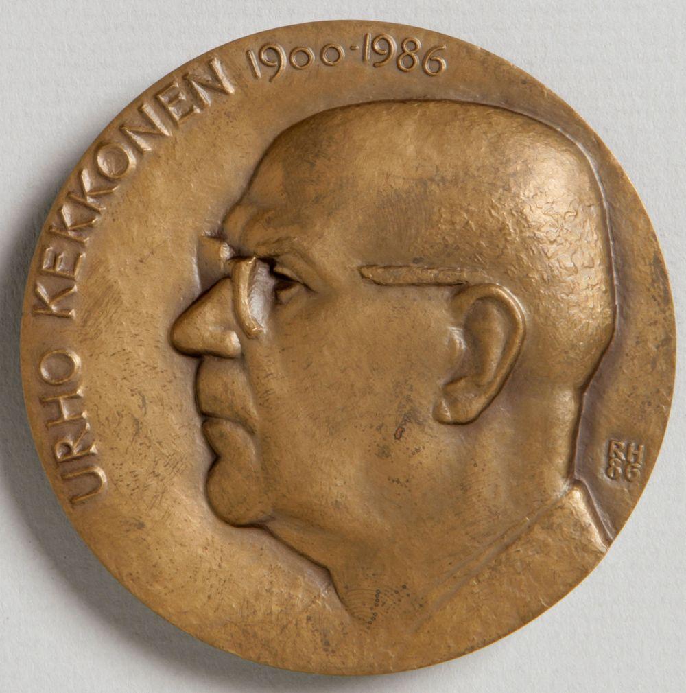Urho Kekkosen 1900-1986, muistomitali