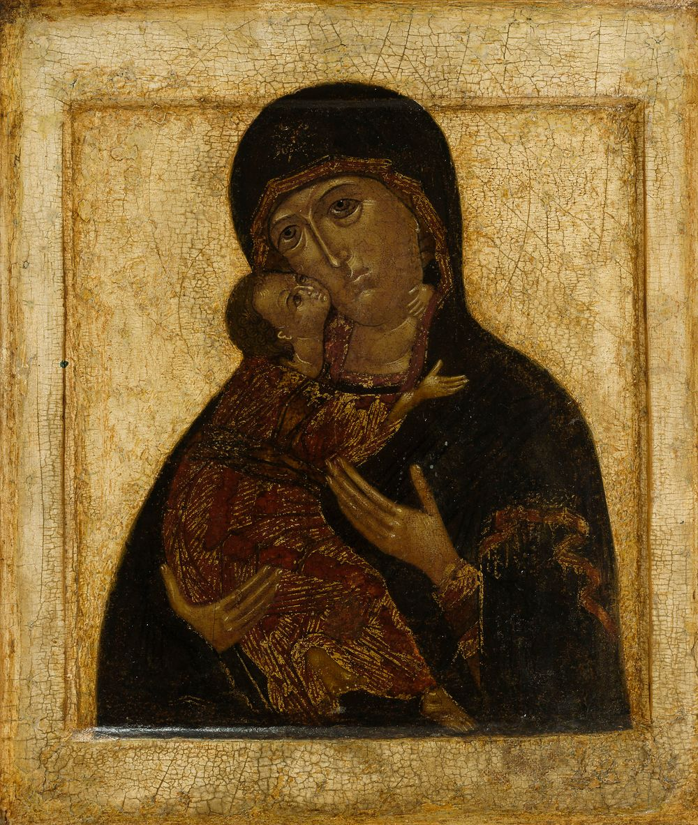Vladimirin Jumalanäiti, venäläinen ikoni