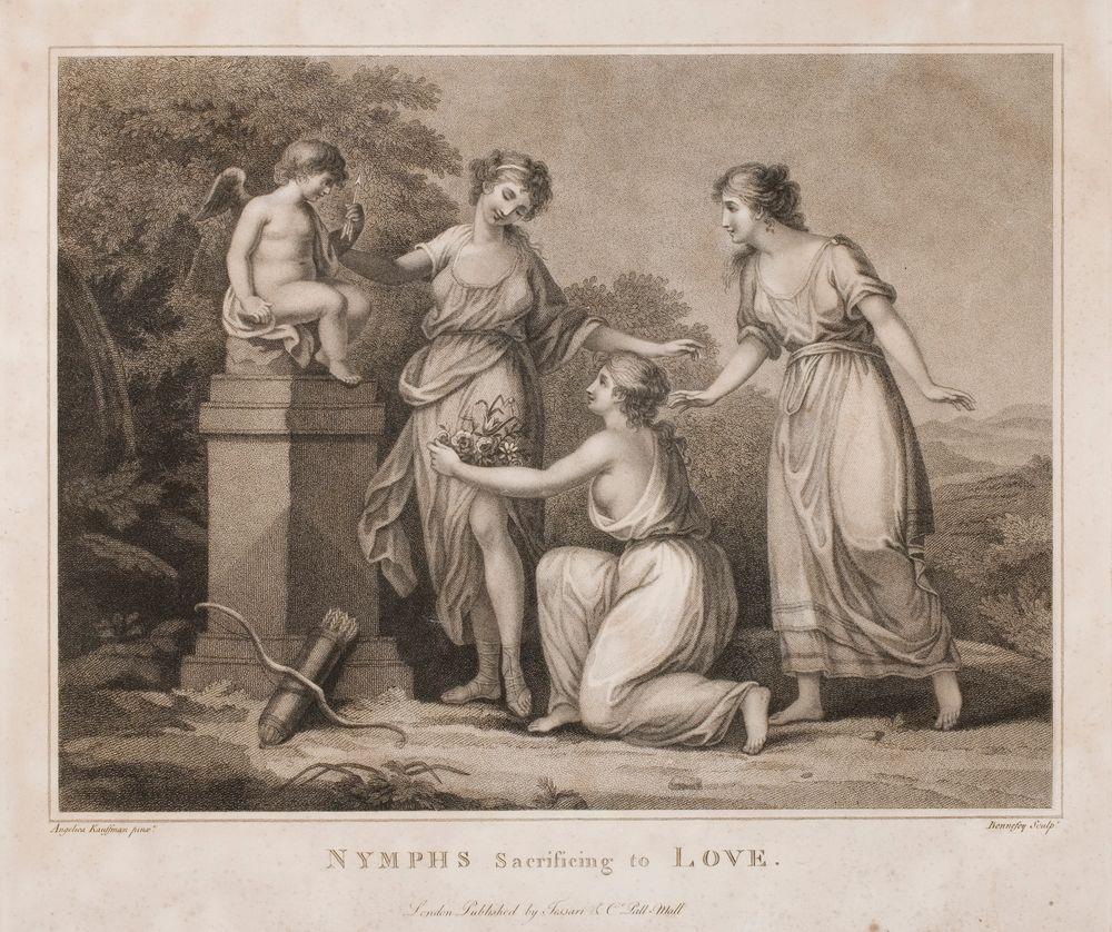 Nymfit uhraavat rakkaudelle