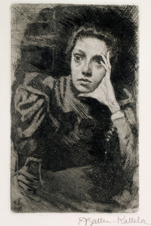 Viola Gallén, taiteilijan sisar