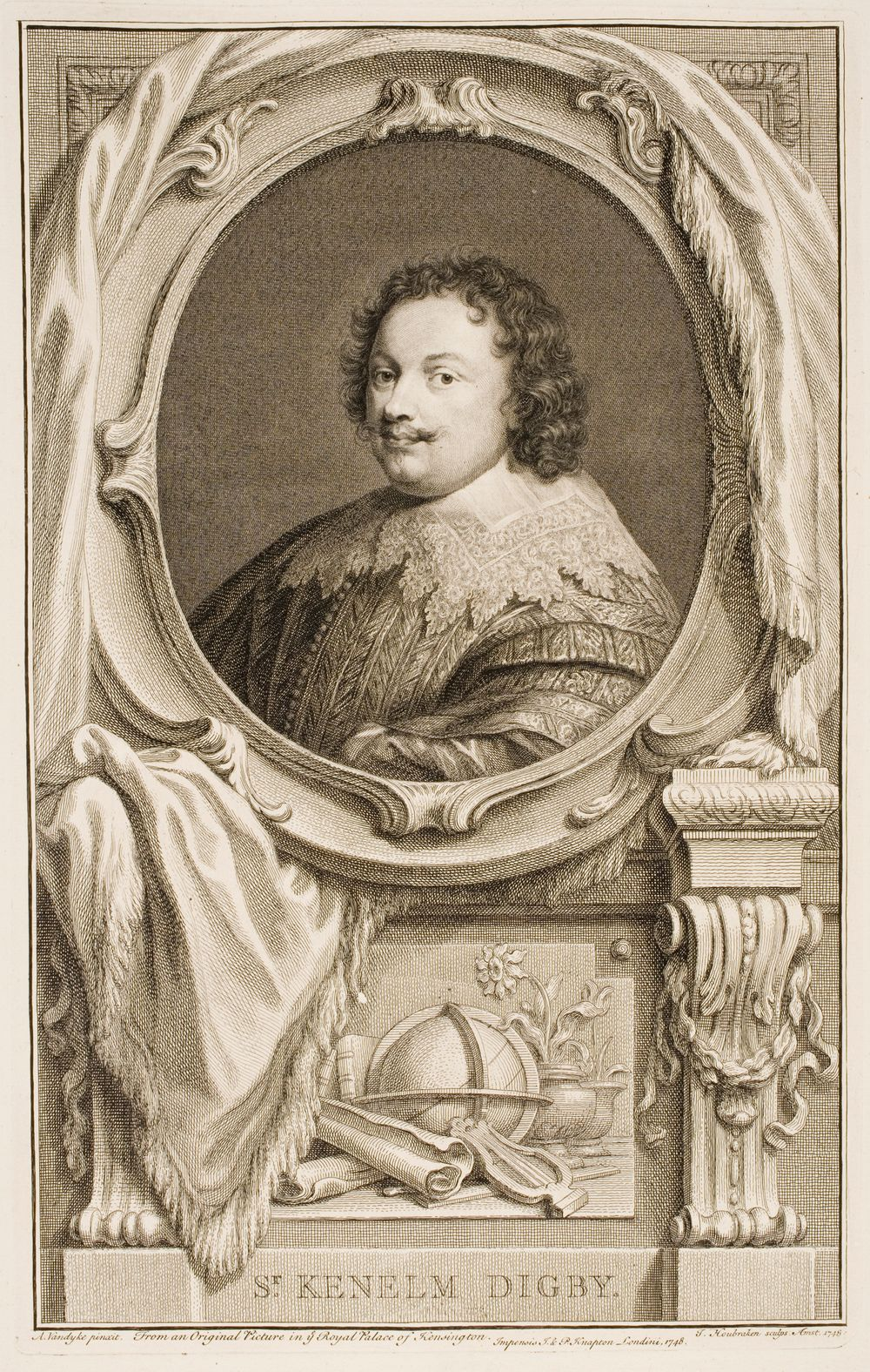 From an Original in Royal Palace of Kensington