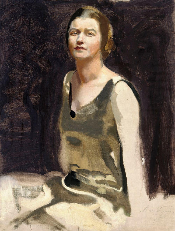 Study for a Portrait of a Lady (Mrs. Edith von Bonsdorff)