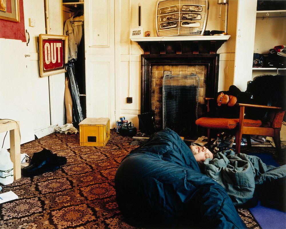 Pekka nukkuu Lennartin luona, Lontoo