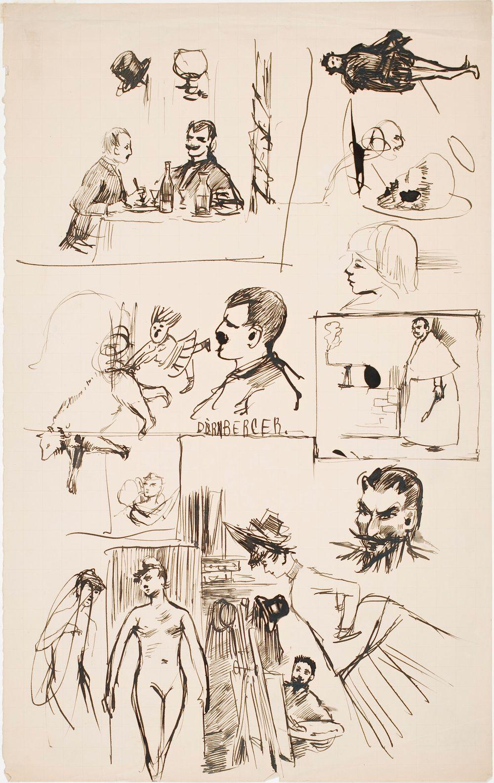 """Dörnberger"", Various Studies"