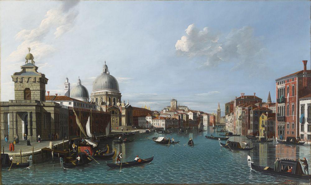 Santa Maria della Salute ja Canal Grande, Venetsia