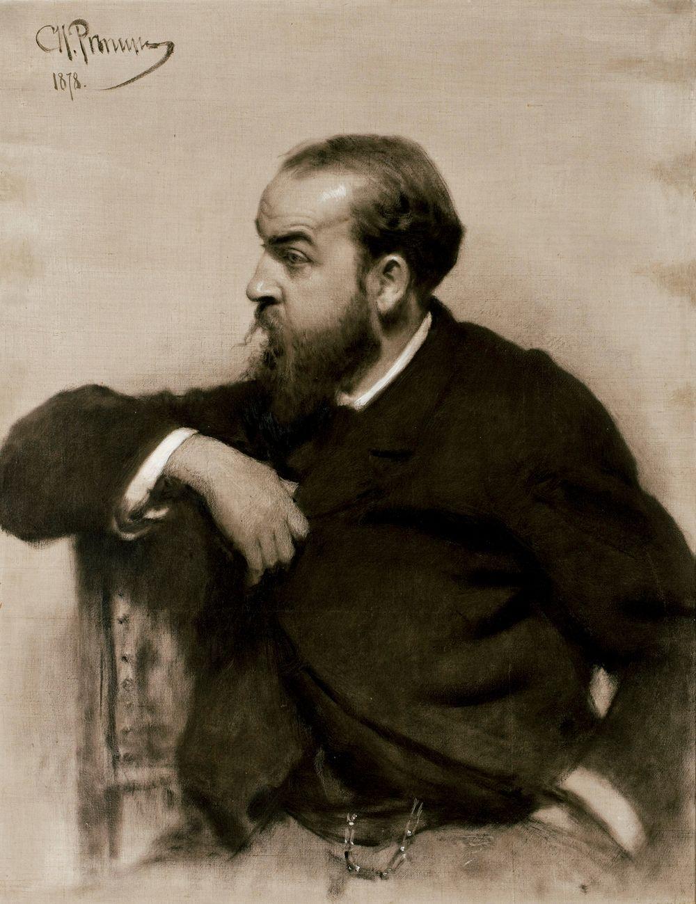 Taiteilija Rafail S. Levitskin muotokuva