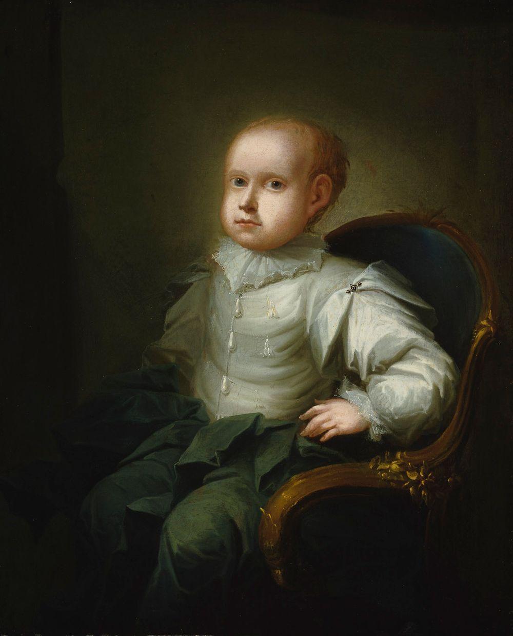 Taiteilijan poika Isak Edvard Wacklin