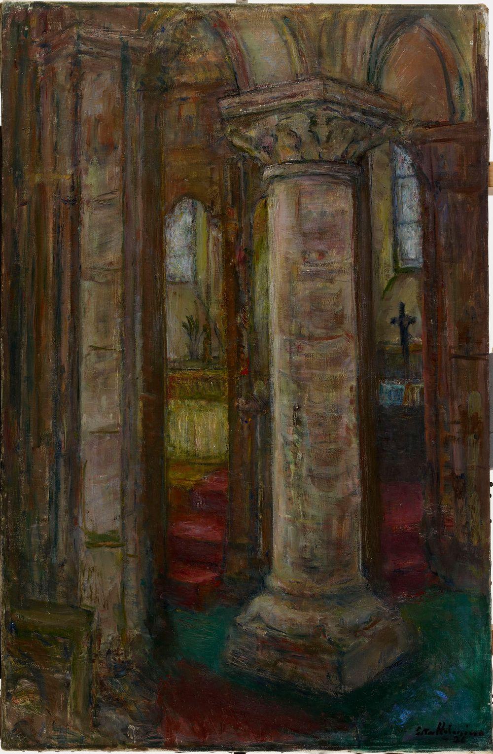 Sisäkuva, L'église Saint Gervais