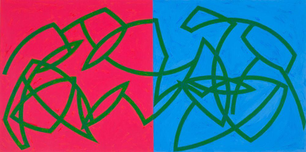 Punainen - Sininen (Poussin sarjasta)