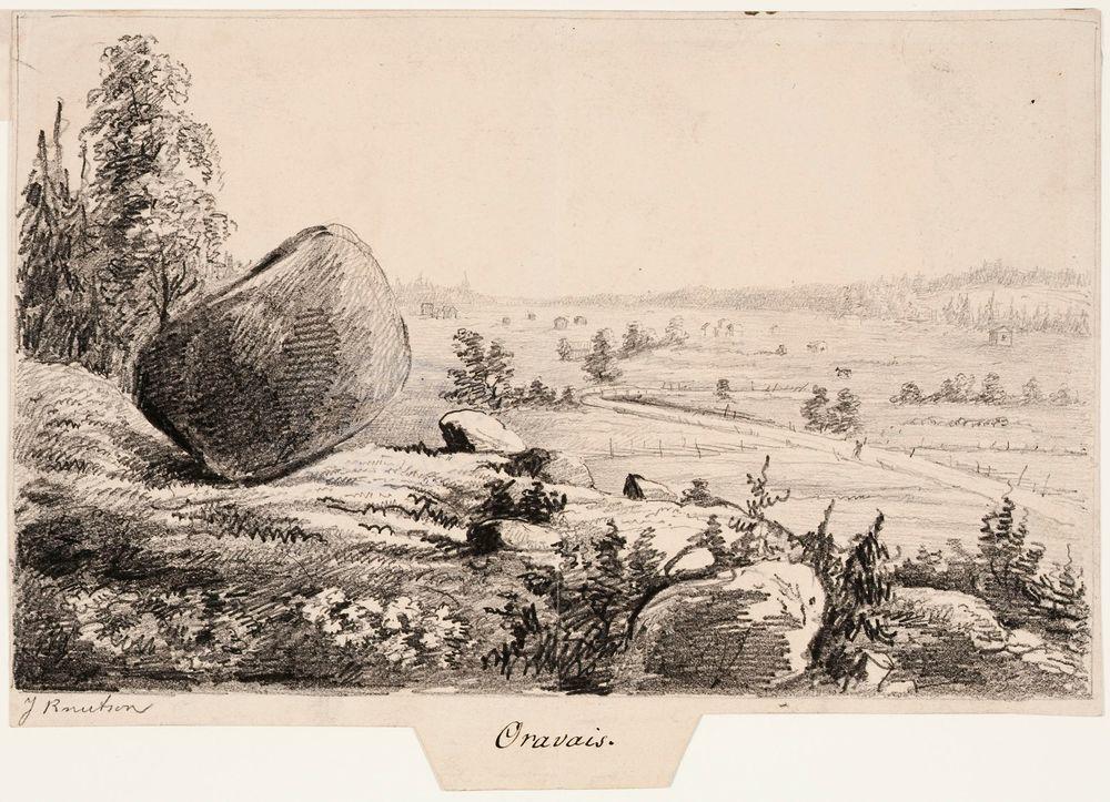 Oravainen ; Kuvitusta teokseen Finland framställdt i teckningar