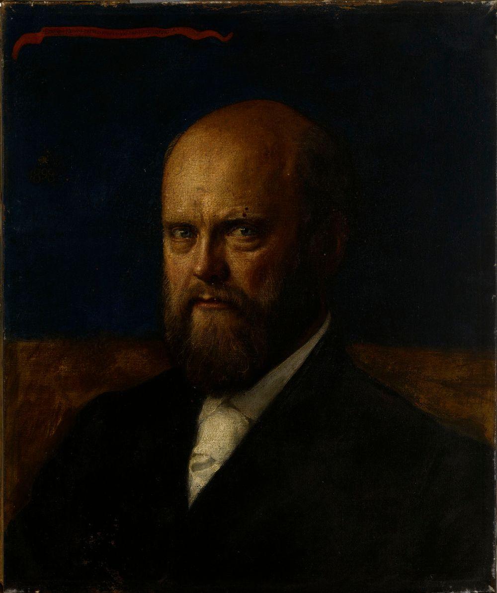 Prof. E.R. Neoviuksen muotokuva